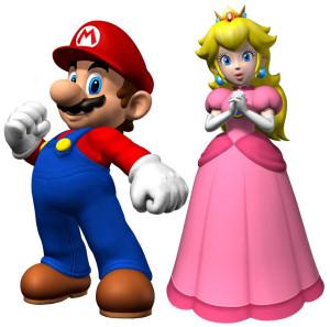 Mario og prinsessen